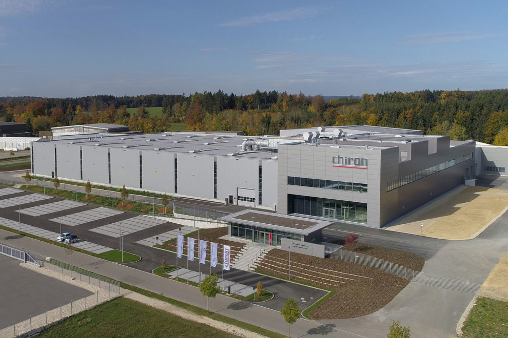 Die Precision Factory wird nach Taicang/China zum zweiten Produktionswerk der Chiron Group. Bild: Chiron