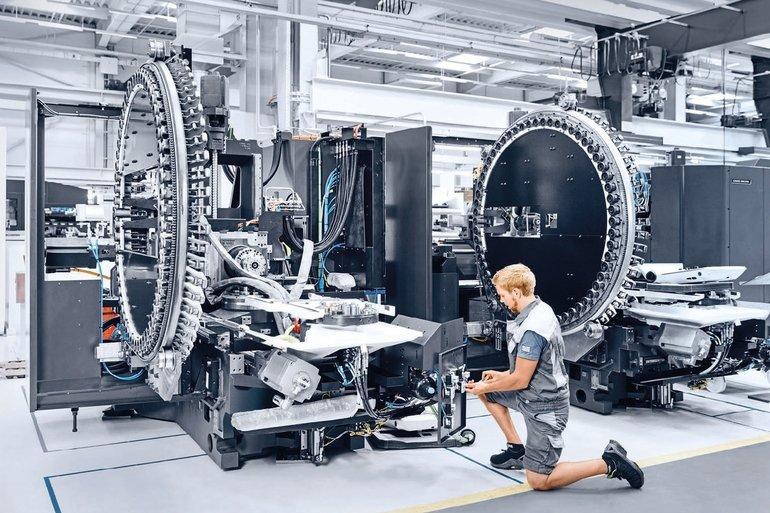 Konzentration auf werkzeugmaschinen und services for Pfronten deckel maho