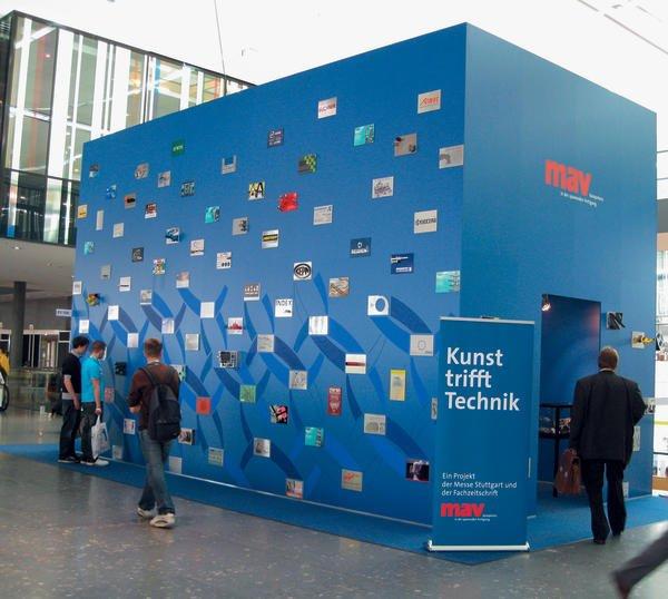 Messe Stuttgart Eingang Ost: Breite Beteiligung An Kunstprojekt