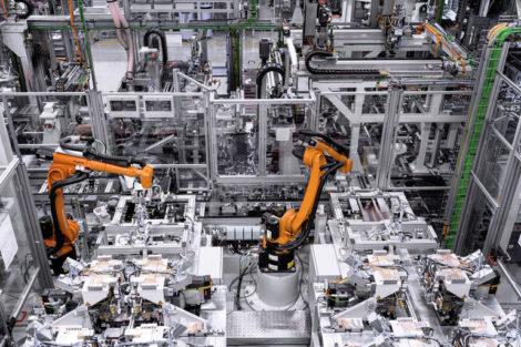 Mercedes-Benz-Batterie-Produktionsanlage