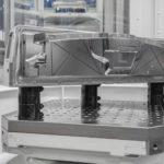 modulare AMF Nullpunktspannsystem mit Werkstück