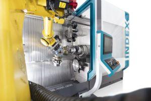 Roboterzelle iXcenter von Index
